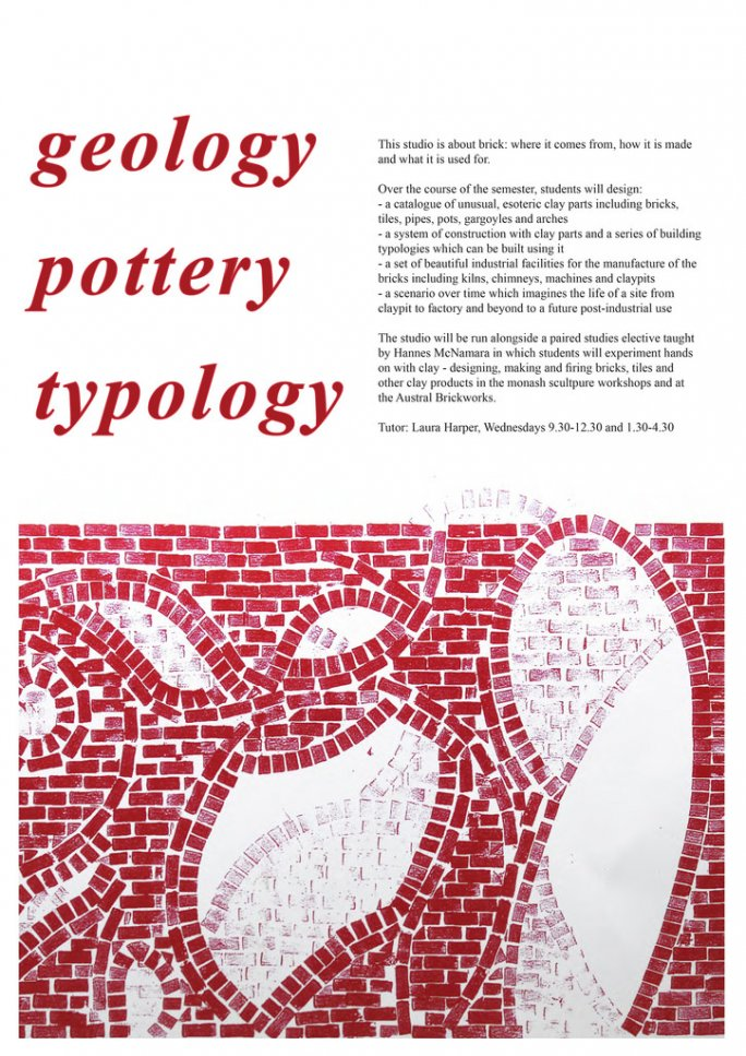 geology / pottery / typology